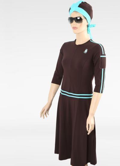 MP6 brown modest swimwear by Sea Secret @$69