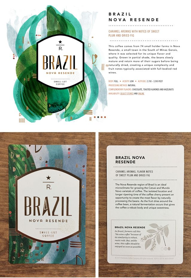 Starbucks Reserve | Brazil Nova Resende - c a y t l y n c h i l e l l i