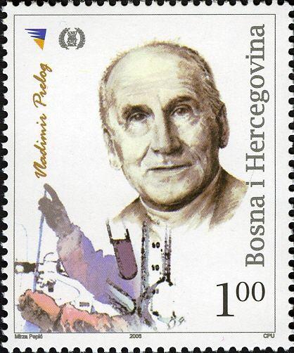 Laureat du prix Nobel de chimie 1975 - Vladimir Prelog