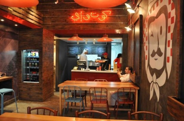 Best images about modern fast food restaurant interior