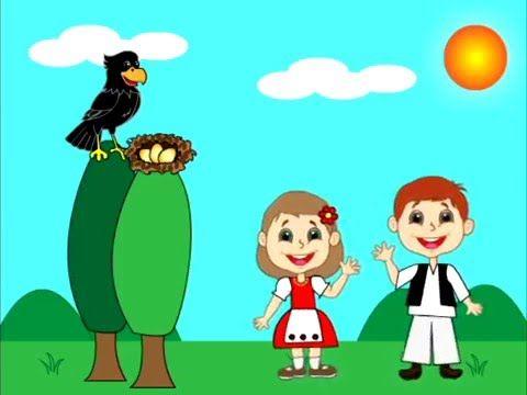 Gyerekdalok - Hármat tojott a fekete kánya
