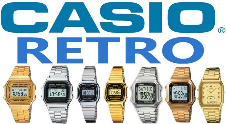 www.orologidal1958iervolino.it CASIO COLLECTION RETRO'