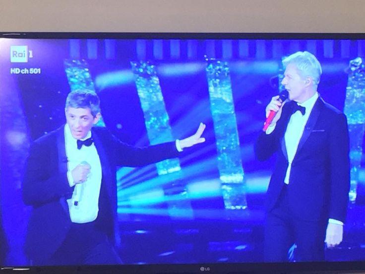 A Superclassifica Show, Fiorello e Claudio Baglioni. Insuperabili! #Sanremo2018