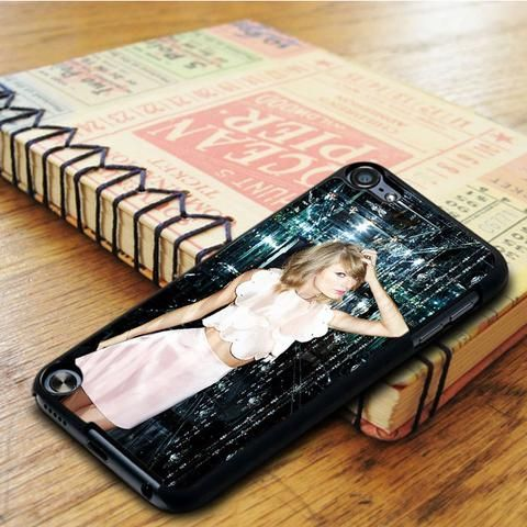 Taylor Swift Glass Singer iPod 6 Touch Case