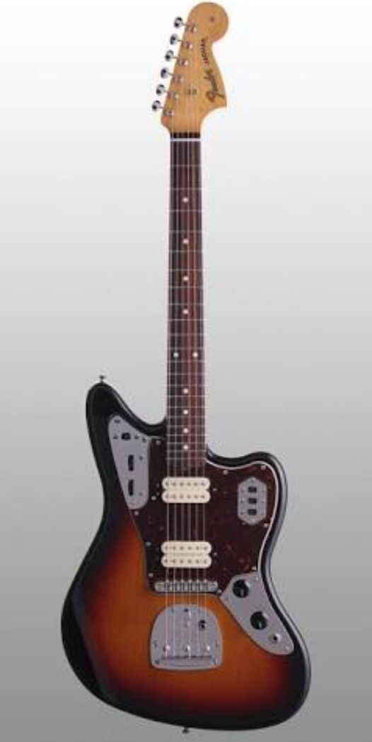 A sound, look and purity- it's my new love.. Fender Jaguar.