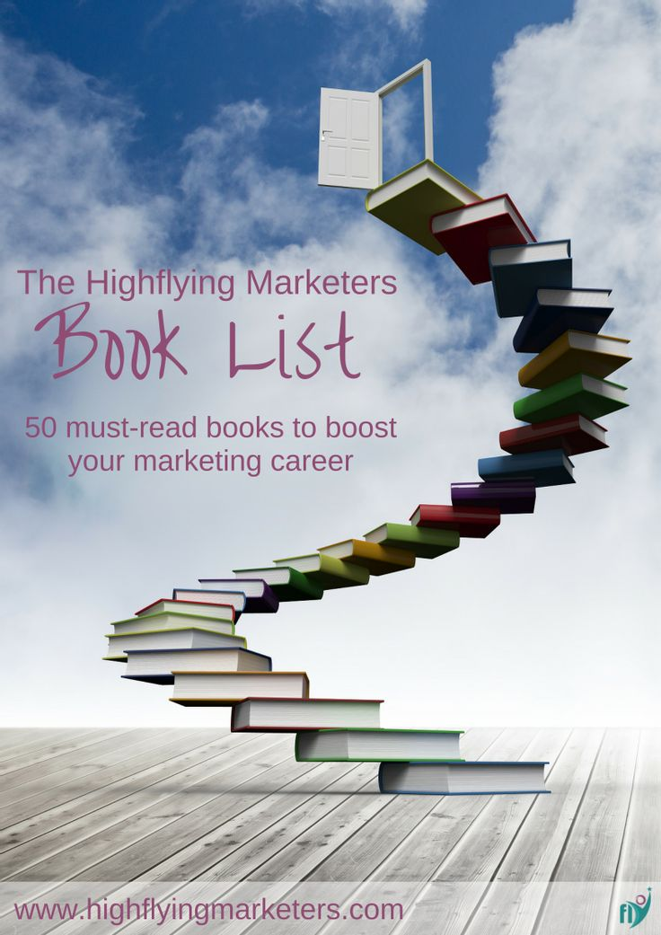 Check out our must-read book list for marketers who want to succeed #booklist #careeradvice #marketing #books #personaldevelopment #ebook
