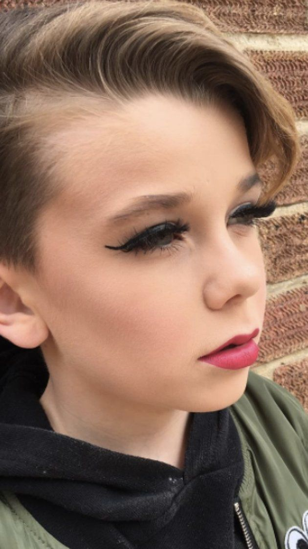 This 10-year-old boy can do makeup better than we ever can ...