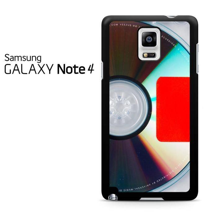 Kanye West Yeezus Album Cover Samsung Galaxy Note 4 Case