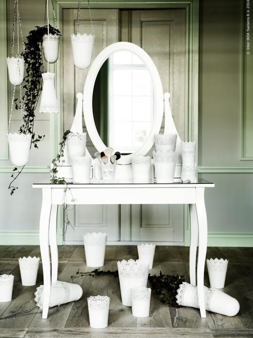 Skurar krukor och amplar m lndal lampa hemnes for Mirrors ikea usa