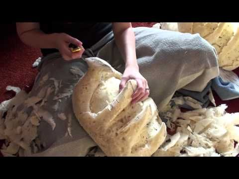 How to carve Expanding Foam