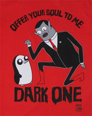 Offer Your Soul To Me – Adventure Time T-shirt from MyTeeSpot. found on www.ShirtRater.com