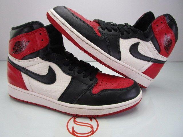 ea70b1e5b5de Nike Air Jordan I 1 Retro High OG BRED TOE 10  fashion  clothing  shoes   accessories  mensshoes  athleticshoes (ebay link)