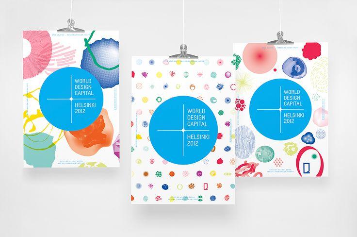 Brand posters Kokoro & Moi – World Design Capital Helsinki 2012