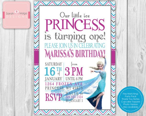 72 best Frozen Birthday Party images on Pinterest Frozen birthday