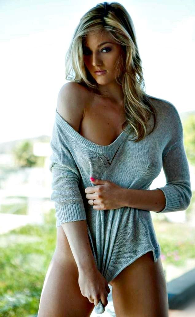 Girls in tight sweaters sexy