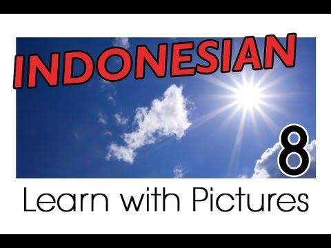 Learn Indonesian Vocabulary with Pictures - Weather Forecast