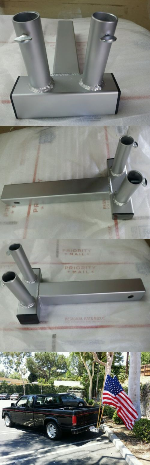 Flag Poles and Parts 43536: The Standard Dual, 14 Trailer Hitch Mount Car ,Truck, Suv Flag Pole Holder -> BUY IT NOW ONLY: $68.99 on eBay!