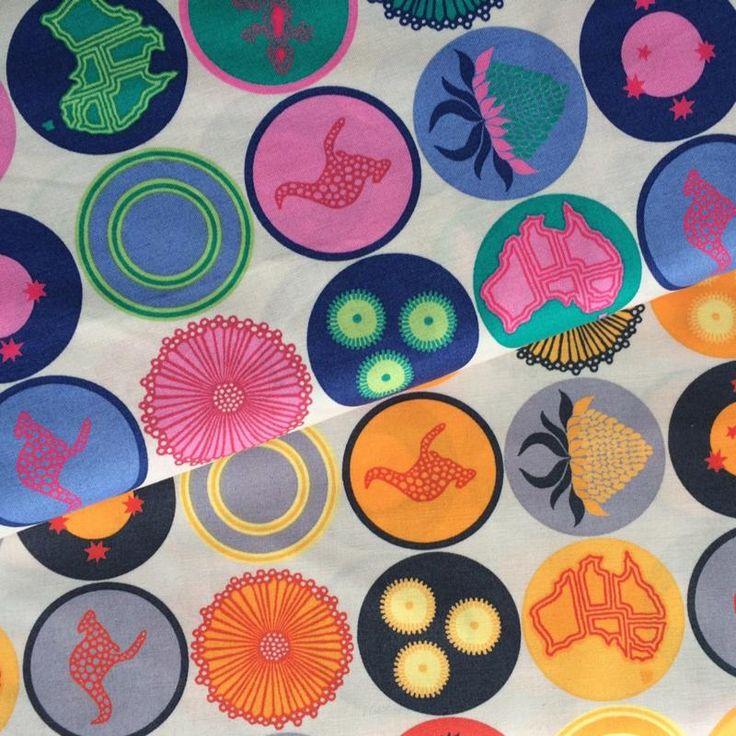 Terra Australis 2 by emma jean jansen  Australis Circles in 2 colour ways
