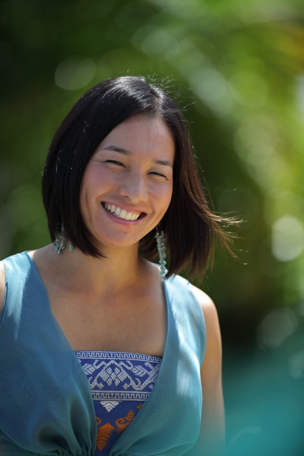 Kimiko Date-Krumm: Japanese tennis star - A very nice shot of Kimiko showing her natural beauty.