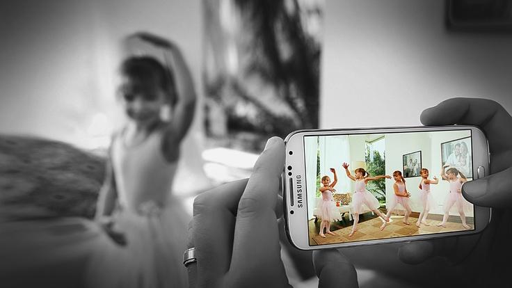 Samsung GALAXY S4, unisci gli istanti che ami. Come in film. #LifeCompanion #Quotidianeità #Smarthphone