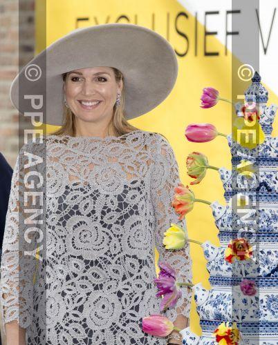 """Rainha Máxima inaugurou a exposição """"Porcelana para a Cidade Proibida"""" no Museu Prinsenhof Delft - Blog_Real - O Blog das Monarquias"""