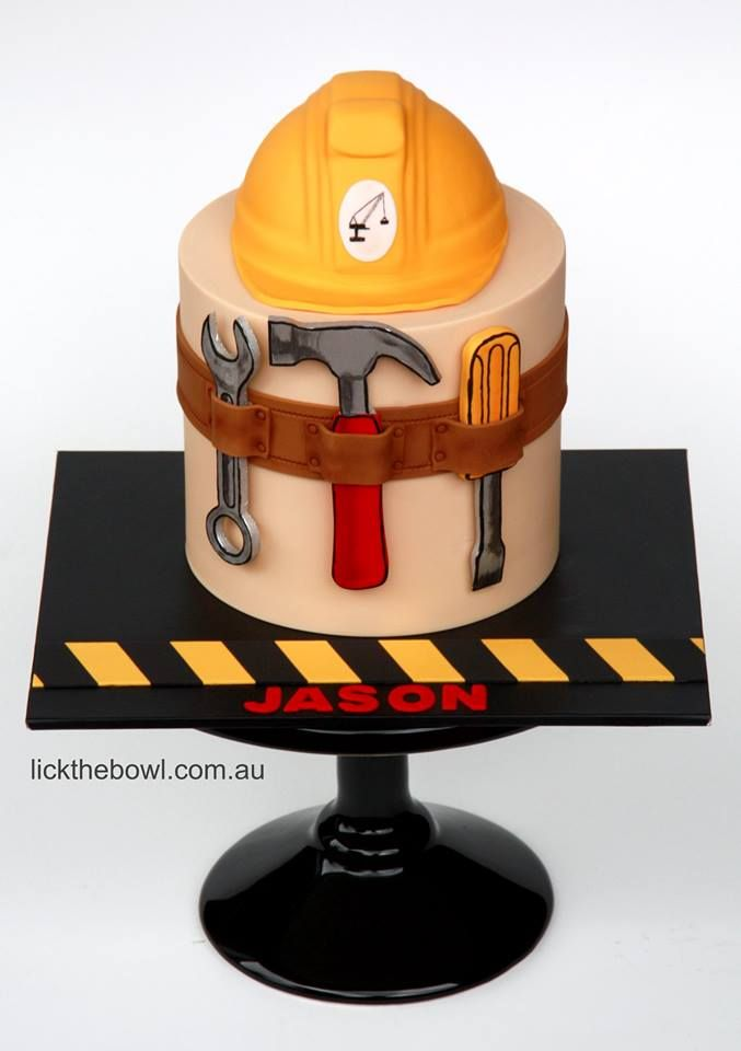 What an amazing cake for your next construction themed party!