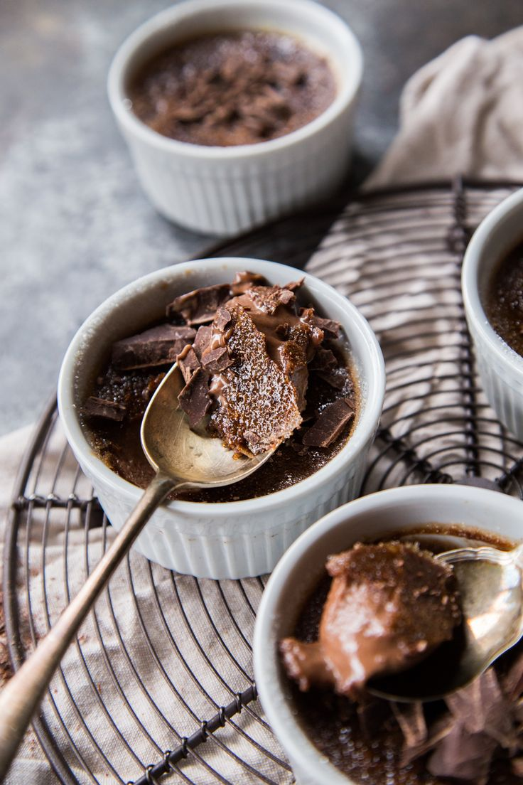 Double Chocolate Creme Brulee