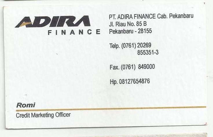 Adira Finance - Romi