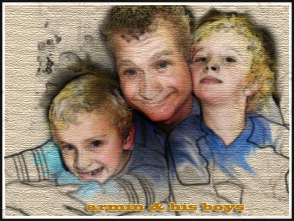 My son-in-law, and his two boys.
