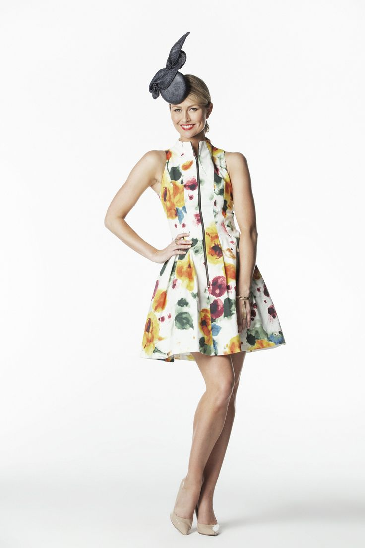 Cue Dress with Jill & Jack Millinery