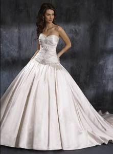 Charming Custom Made Ball Gown Sweetheart Ruched Beads Working Taffeta
