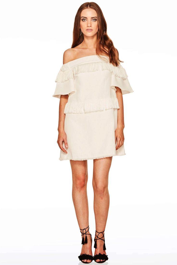 Talulah - Slow Dance Mini Dress Ivory