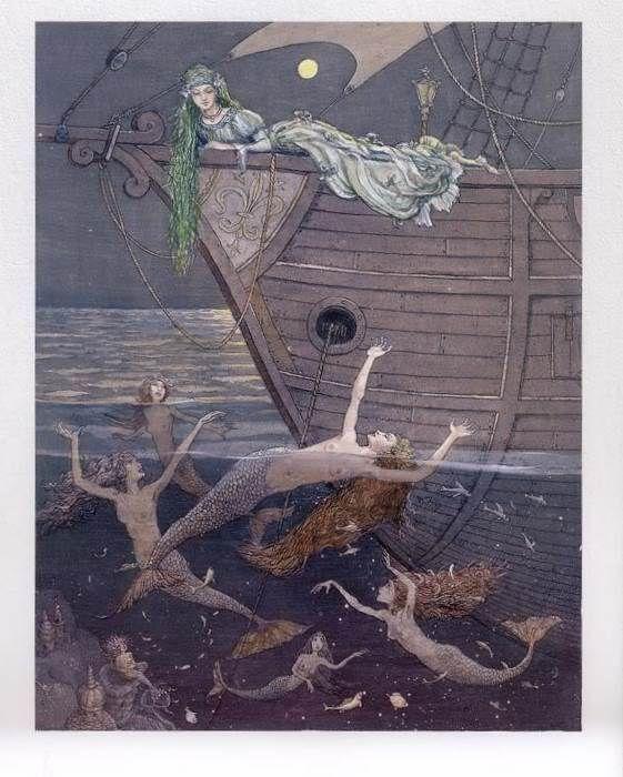 çizgili masallar: Boris Diodorov, The Little Mermaid
