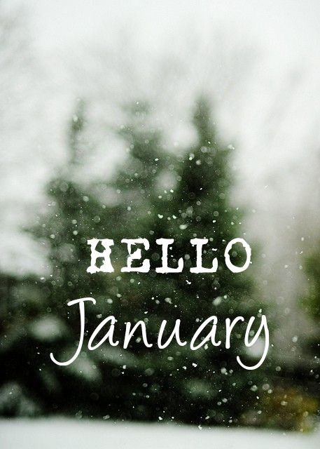 Hello January #winter
