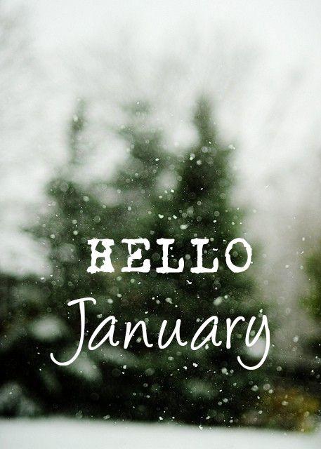 Hello January #winter