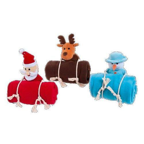 Manta Navideña con Juguete de cuerda para Perros y Gatos Cálida y confortable mantita perfecta para decorar tu hogar en la época navideña. TiendAnimal pone a tu disposición una gama de exclusivos productos navideños perfectos