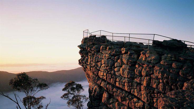 The Pinnacle, Grampians National Park, Grampians, Victoria, Australia
