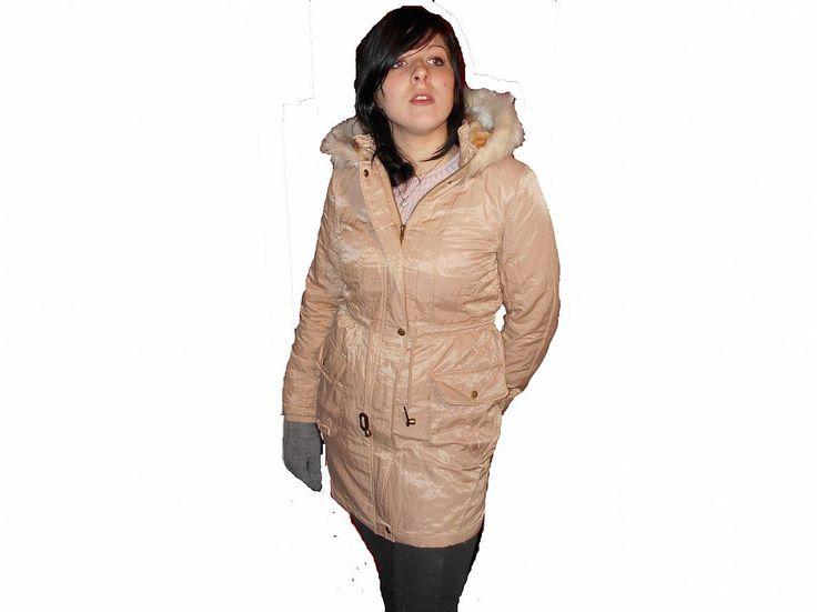 Ladies Parka Coats | Savida Metallic Parka Coat « Welcome to BagsBaz.co.uk