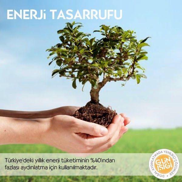 Enerji Tasarrufu -  Türkiye'de yıllık enerji tüketiminin yaklaşık %40'ından fazlası aydınlatma için kullanılmaktadir.Ofis, depo vb gibi işyerlerinin aydınlatma amaçlı enerji harcamalarında %97'ye varan oranlarda tasarruf sağlar. Ayrıca günışığının en verimli olduğu 11.00-16.00 saatlerinde, aynı zamanda enerji kullanım ihtiyacının en fazla olması, doğal aydınlatmada verimin artmasına ve yapay aydınlatma ihtiyacının en aza indirgenmesine katkıda bulunur.
