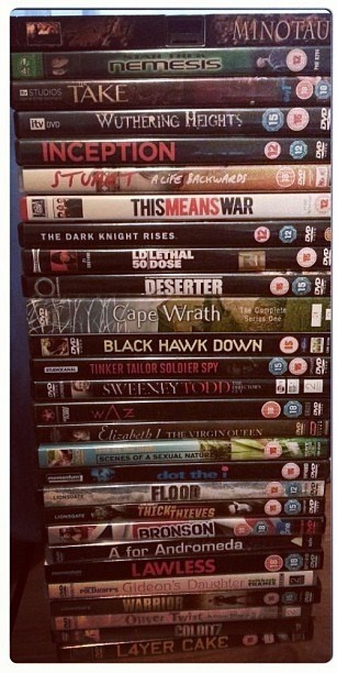 My kind of Movie Night :0) nothing but Tom hardy flicks