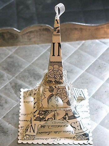like: Craft, Tour Eiffel, Paris Eiffel, Eiffel Towers, Paper, Diy, Paris Christmas