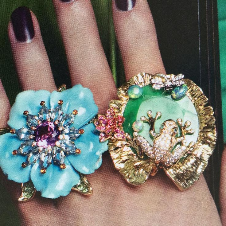 """""""du TBT #precious #diorjewelry #vogue"""""""