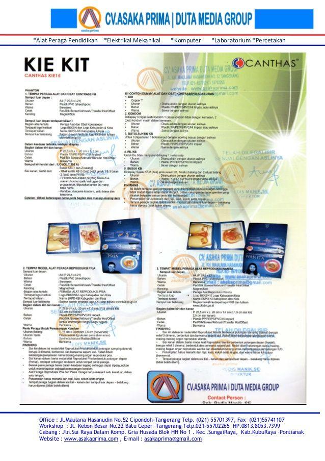 Daftar kie kit kkb & brosur kie kpendidikan kependudukan kit 2015