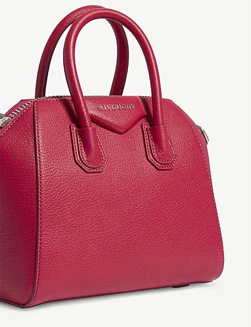 GIVENCHY Antigona mini grained leather tote bag  b82c47c4399