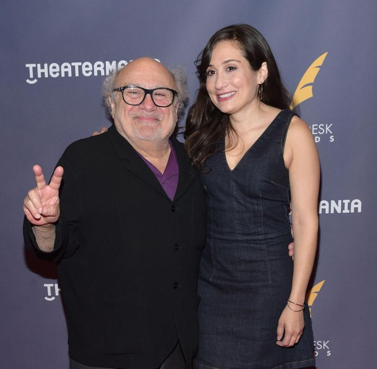 Danny DeVito and Lucy DeVito attend the 2017 Drama Desk Awards at Anita's Way in New York City on June 4, 2017.