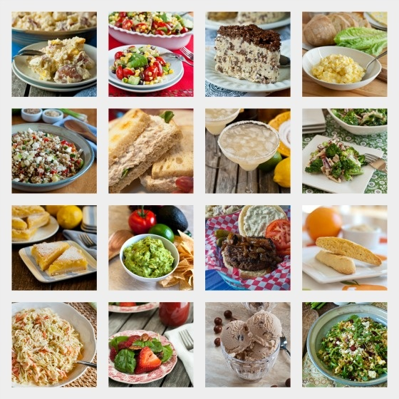 Summer Barbeque Recipes - A Family Feast