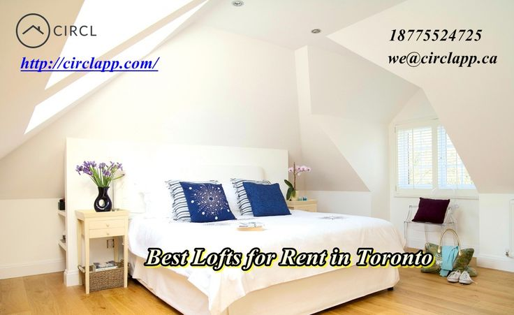 If you want the desired #lofts for #rent in #Toronto, #ON #Canada! Please visit at #CIRCLAPP:  http://circlapp.com/