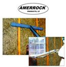 Amerrock is a spray-on rockwool insulation. It is manufactured with a dry adhesive built into the product which requires the addition of water to activate the cohesive and adhesive strength for closed cavity applications. With a density of 4 lbs. per cubic foot, Amerrock has greater mass than most other insulation fibers (mineral, glass or cellulose) thus adding to the overall partition mass and decreasing the air infiltration rate while increasing sound control.
