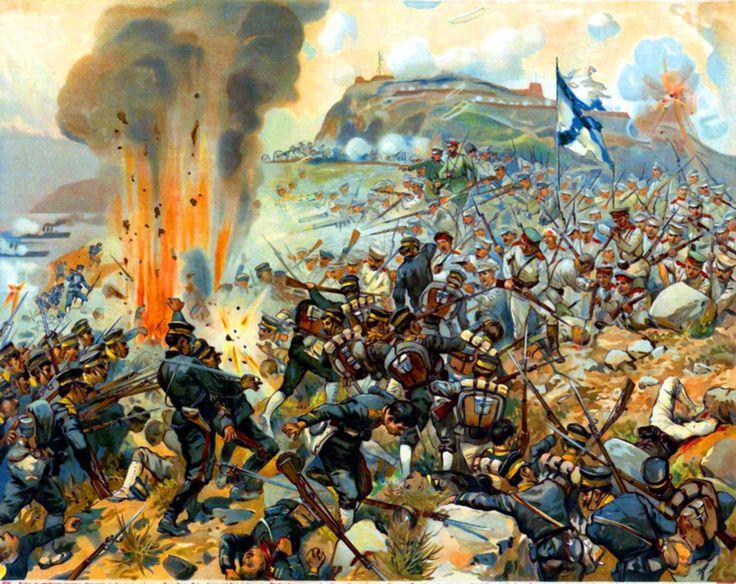 Japanese assault on Port Arthur, Russo-Japanese War