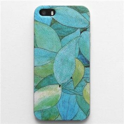 Hand Draw Design iphone 5/5s/6 Case (Leaves II)